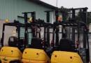 Công ty bán xe nâng điện Komatsu cũ