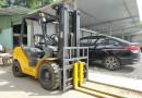 Bán xe nâng dầu 3 tấn Komatsu chính hãng